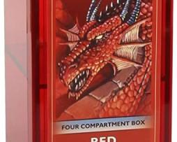 Dragon Shield Four Compartment Box Red 2