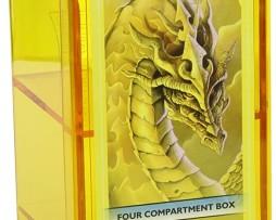 Dragon Shield Four Compartment Box Yellow 1