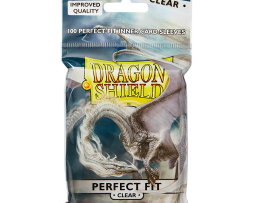 Dragon Shield Standard Perfect Fit Sleeves Clear (63mmx88mm)