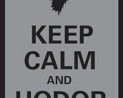 Legion Keep Calm and Hodor 50 Sleeves