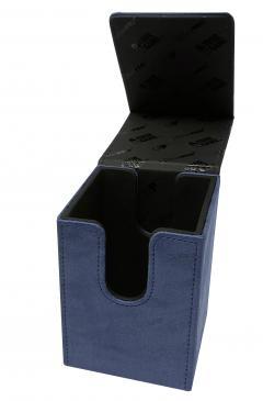 Suede Collection Alcove Flip Sapphire Deck Box