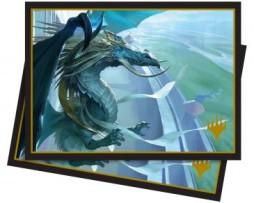 Ultra Pro 100 Matte Deck Protector Sleeves (66mmx91mm) Elder Dragons Arcades the Strategist