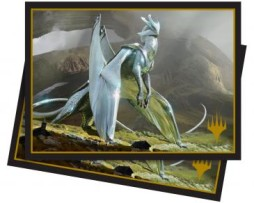 Ultra Pro 100 Matte Deck Protector Sleeves (66mmx91mm) Elder Dragons Chromium the Mutable