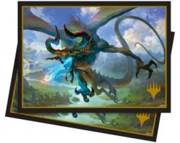 Ultra Pro 100 Matte Deck Protector Sleeves (66mmx91mm) Elder Dragons Nicol Bolas the Ravager