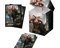 Ultra Pro Combo 100 Sleeves & Deck Box MTG Commander Legends Jeska, Thrice Reborn