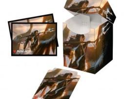 Ultra Pro Combo 100 Sleeves & Deck Box MTG Commander Legends Liesa, Shroud of Dusk