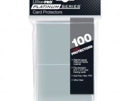 Ultra Pro Platinum Series Card Protectors 100 (63.5mmx88.89mm)