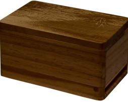 Ultra Pro Premium Dark Wood Deck Box 1