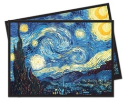 Ultra Pro Starry Night Deck Protector 65 Sleeves (66mmx91mm)